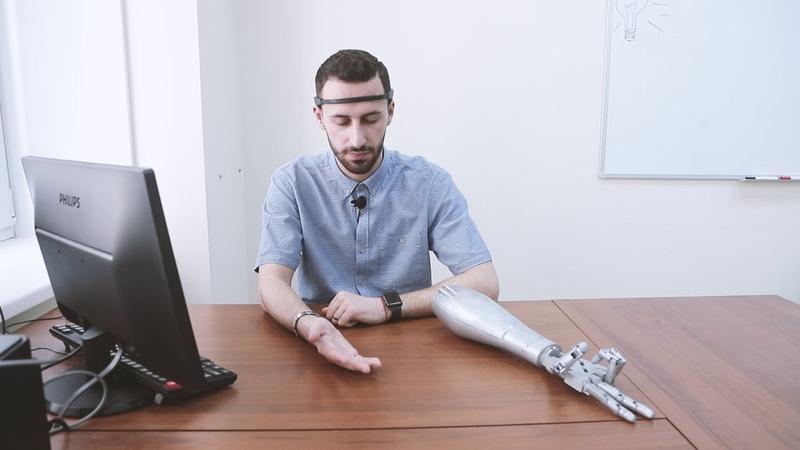 Нейроуправление мехатронным устройством