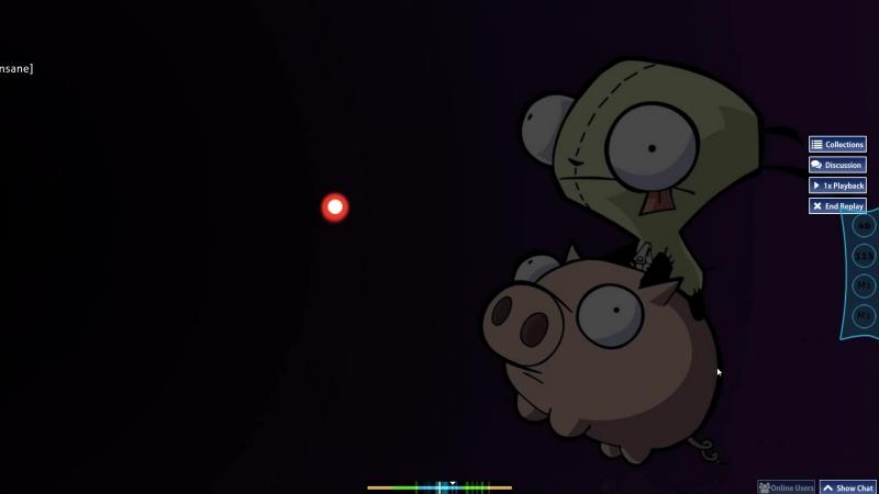 Invader Zim Gerblun's light insane DT 86,20%