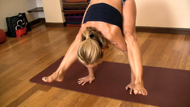 Lifting Up Into A Handstand from Tittibhasana with Kino MacGregor