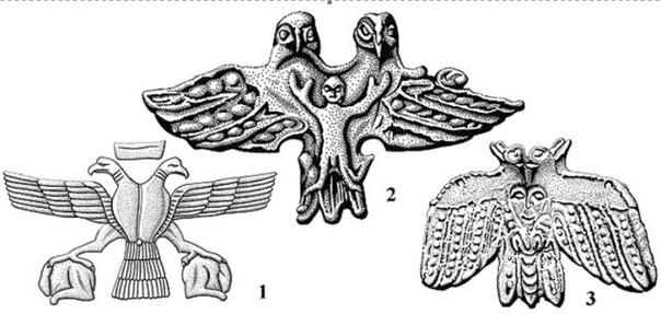 Двухглавый орел древнейший солнечный символ