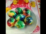Космические яйца. Красиво получается.