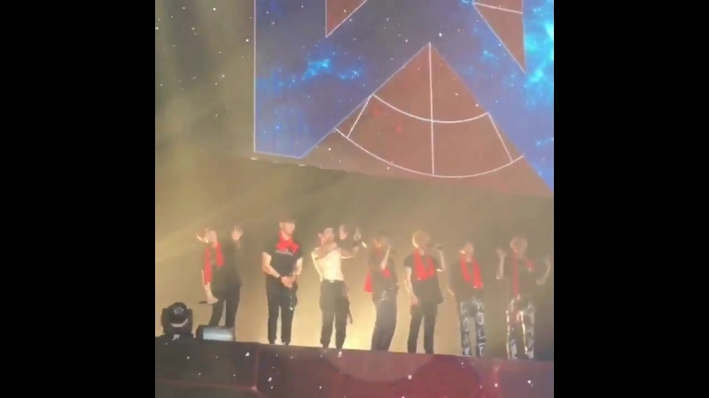 [VK][180527] MONSTA X fancam Ending Stage @ The 2nd World Tour: The Connect in Seoul D-2❤️