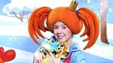 Поиграйка - Мняшки ХРУМС - В гостях у Царевны - Видео с игрушками для малышей