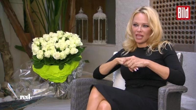 Pamela Anderson in Germany, march 2018