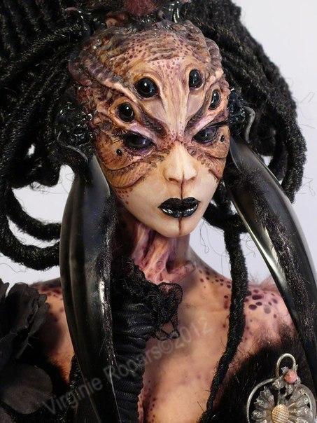 Скульптор Virginie Ropars Dolls.