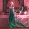 Платье Принцессы Зеленое