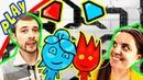 БолтушкА и ПРоХоДиМеЦ Заблудились в Темных ЛАБИРИНТАХ! 165 Игра для Детей - Огонь и Вода 4