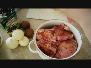 Маринад с киви для шашлычка - Личный повар (Рецепт в описании под видео)
