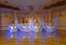 Joumana Dance Show rehearsing with LED wings