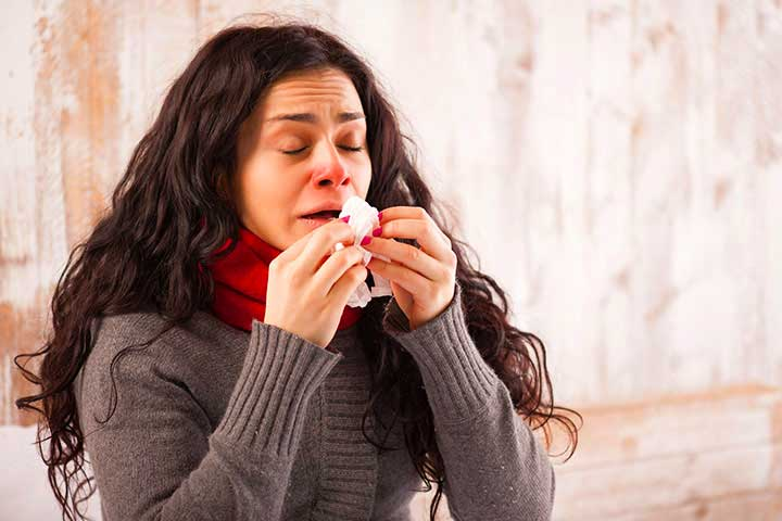 Облегчение заложенности носа при синусите