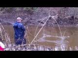 Рыбалка: ловля рыбы на подхватку (паук, сеть, сетку)