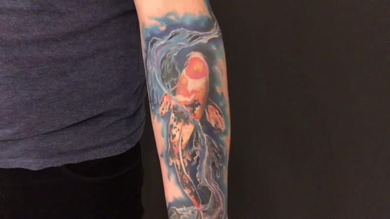 Tattoo artist Jamal