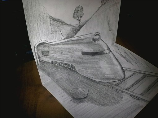 3D рисунки и рисунки по