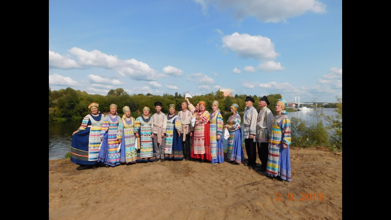 ансамбль русской народной песни Слободка в Кимрах