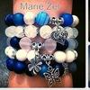 Marie Zel - браслеты, камни, Pandora, Regaliz