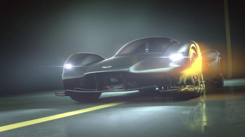 The Aston Martin Valkyrie AM-RB 001 hypercar officially named