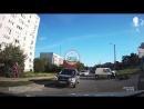 ДТП на перекрестке Ген Острякова и Ген Лебедя Севастополь