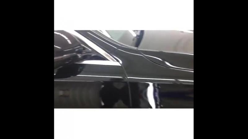 Процесс комплекса Детейлинг процедур по Мерседесу Полировка, Защита от сколов Пленкой, Нанокерамика плюс Жидкое Стекло и Антидо