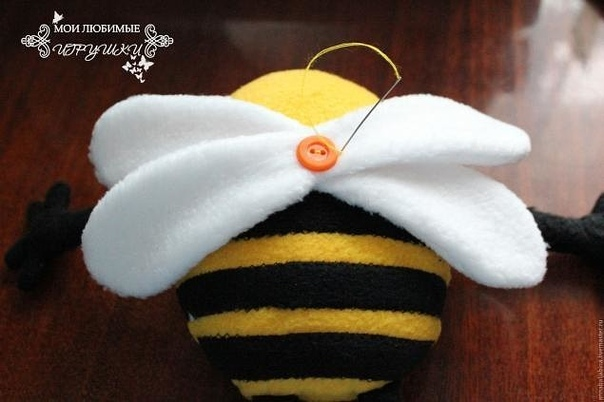 Пчёл - текстильная игрушка