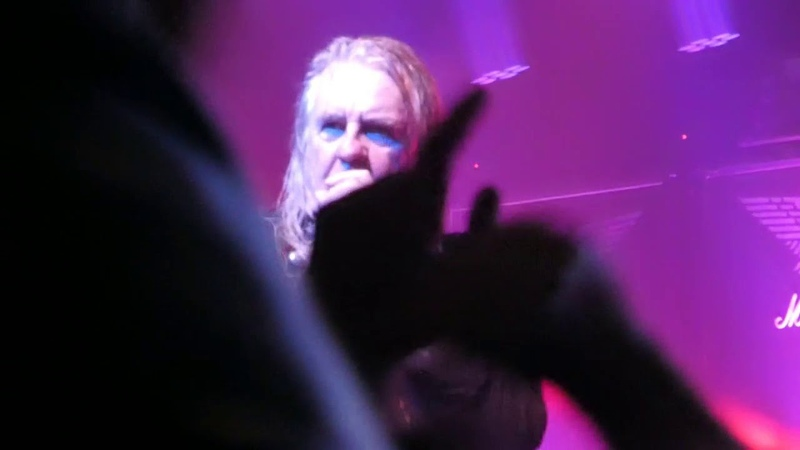Saxon Demin and Leather Live at Academy Manchester 21 October 2018