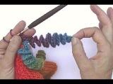Вязание спирали крючком (декоративный элемент)