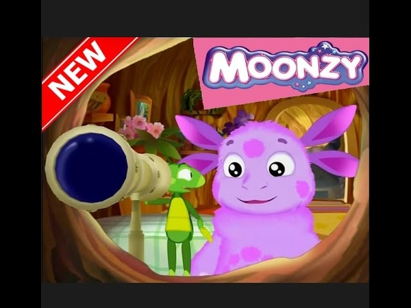 MOONZY (Luntik) Cartoon game new series 2017 I want to know everything 7 Episode A pair of clouds