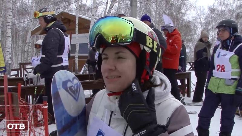 Команда ОТВ впервые приняла участие в кубке СМИ по зимнему двоеборью