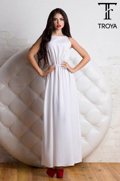 Белое Платье Длинное Купить В Спб