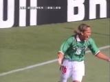 ЧМ-1998. Луис Эрнандес (Мексика) - мяч в ворота сборной Германии