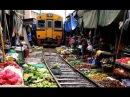 Maeklong Railway Market ตลาดแม กลอง 傳說中的泰國鐵道市場