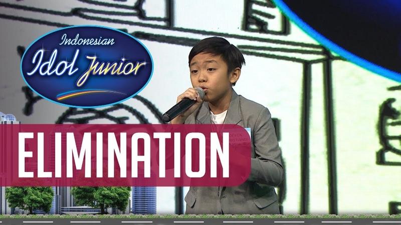 DEVEN CHRISTIANDI - GOLDEN SLUMBERS (The Beatles) - ELIMINATION 2 - Indonesian Idol Junior 2018