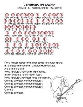 лунная соната ноты цифрами
