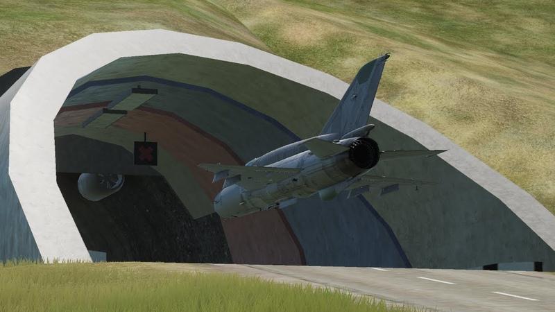 DCS World MiG-21bis Roki Tunnel トンネルくぐり