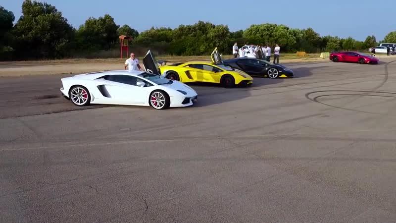 Lamborghini Centenario tested at NTC - Nardò Technical Center - AutoMotoTV Deutsch