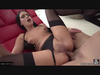 Annie wolf & kristof cale [ anal / deep blowjob , ass , finger , in oil , beautiful lingerie , cumshot in mouth]