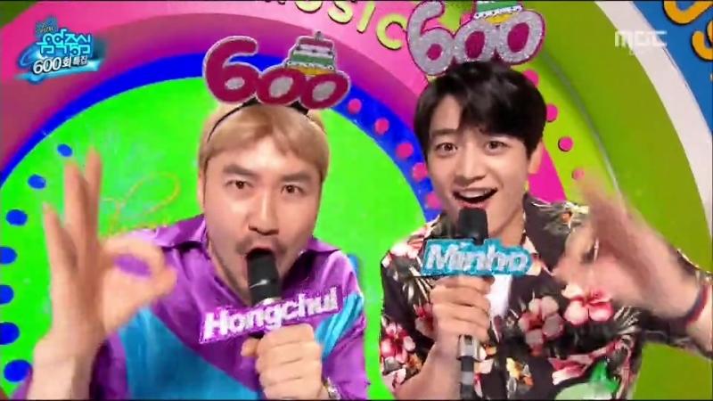 MBC 쇼! 음악중심 600회 특집 2018-08-11