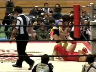 5. Miho Wakizawa vs. Nanae Takahashi (AJW 12.1.2001)