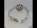 Часы из серебра и керамики-6800