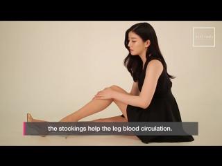 ALLI LADY Fashion Pantyhose Promotion (English)