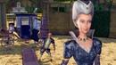 Barbie in The 12 Dancing Princesses - Duchess Rowenas arrival