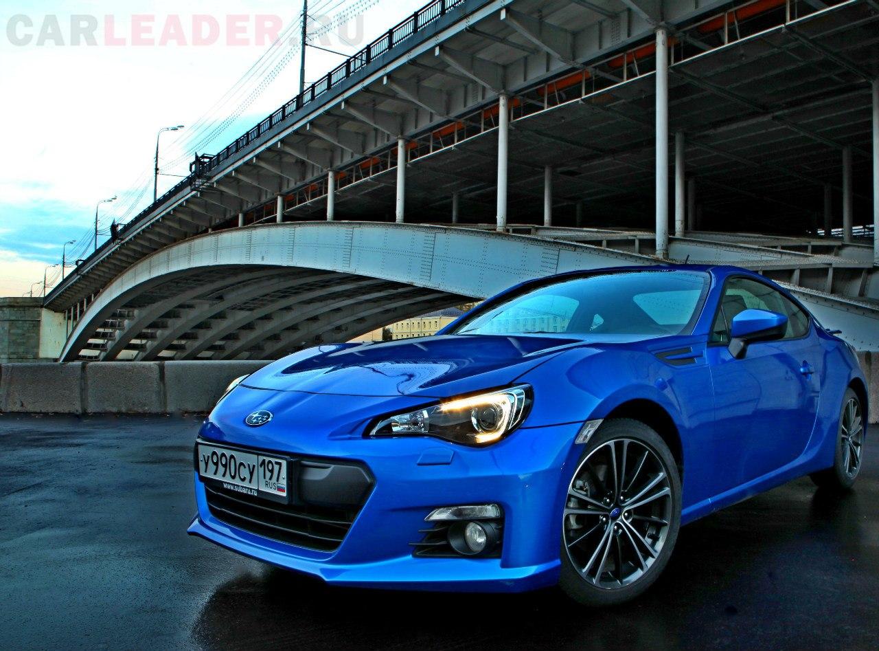 С купейного BRZ для компании Subaru начинается правильный дизайн.