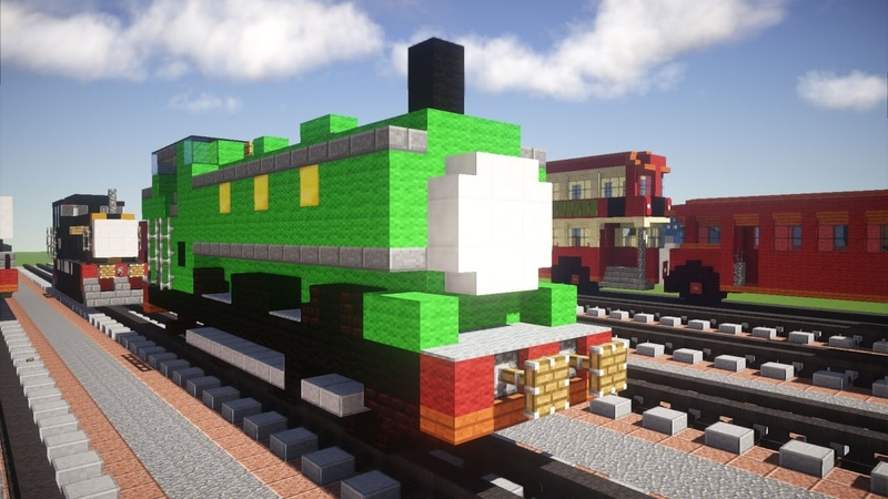 Minecraft Duck Thomas Friends Tutorial
