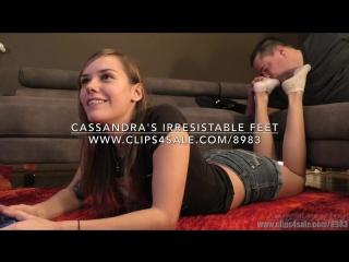 Cassandra's Irresistible Feet - (Dreamgirls in Socks)