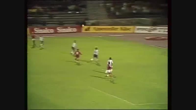 DDR v Schweiz 12 OCT 1983 EM-Qualifikation