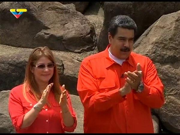 Bolívar    desde el Parque la Llovizna Presidente Nicolás Maduro compartió con el pueblo indígena