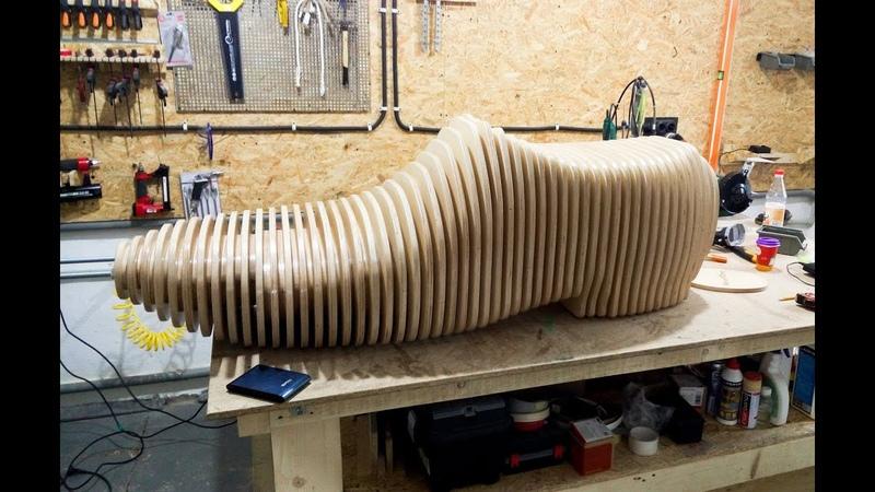Параметрическая скамейка - от идеи к готовому изделию / Parametric bench