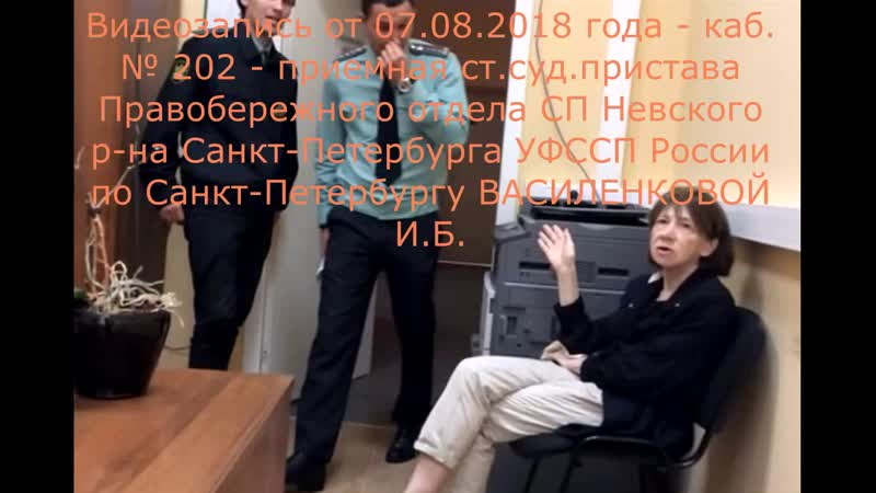 Видеозапись у каб.201 (07.08.2018 г.) субтитры