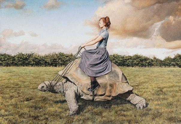Потрясающая картина художницы Лизы Адамс.