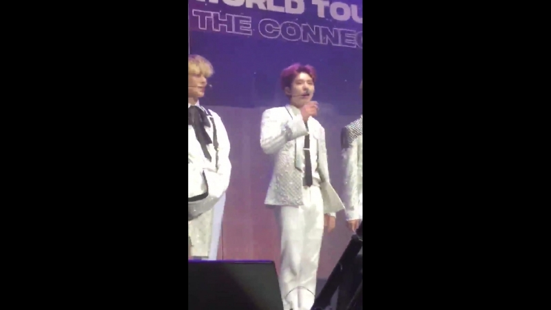[VK][180623] MONSTA X fancam Talk Time (Kihyun focus) @ The 2nd World Tour: The Connect in Madrid