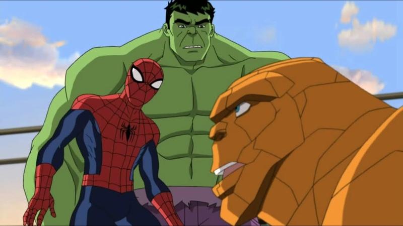 Великий Человек паук Невероятный Паук Халк Сезон 2 Серия 14 Marvel
